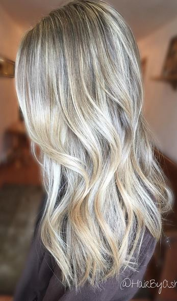 pearl blonde babylights