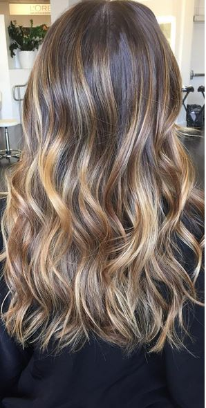 brunette hair color trends 2016