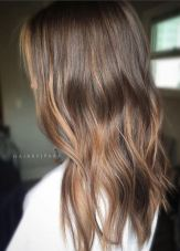 dark wood brunette with warm tones