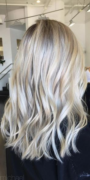 gorgeous blonde highlights