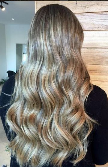 long bronde hair goals