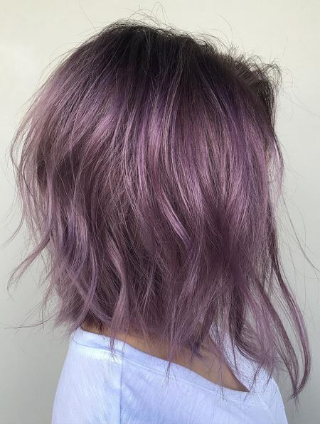 violet hair color - love