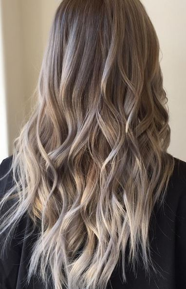 ashy bronde hair color