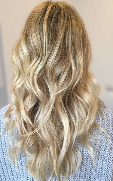 brilliant blonde highlights