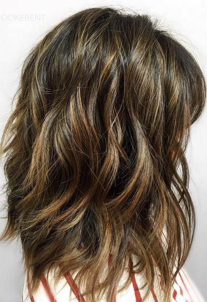 beachy california brunette