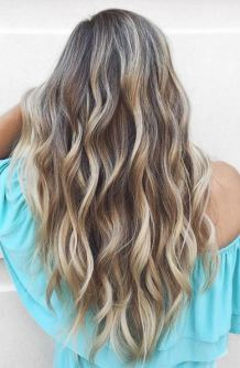 beautiful bronde balayage