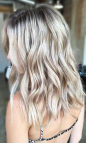 cool champagne blonde