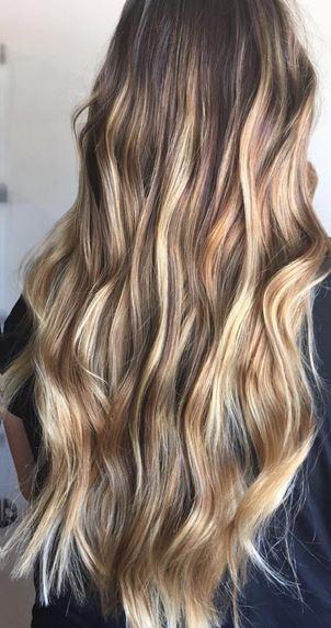 mermaid bronde hair color