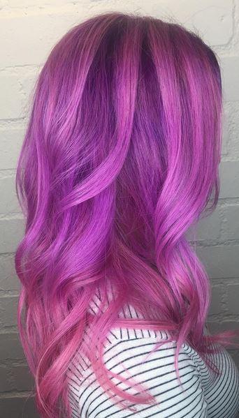 purple hair mane interest. Black Bedroom Furniture Sets. Home Design Ideas