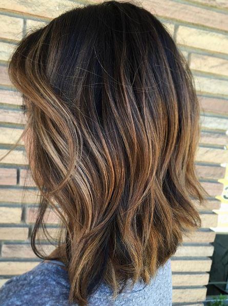 Subtle Highlights To Add Dimension On Brunette Hair Mane