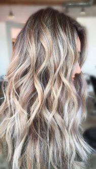very light brunette hair color