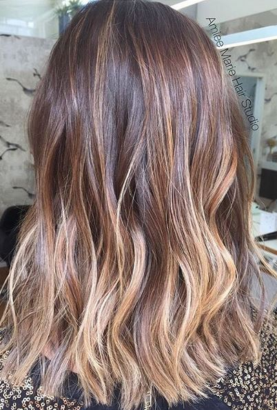 Walnut Ombre Mane Interest