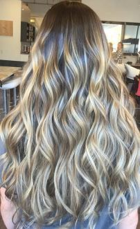 mermaid bronde hair color