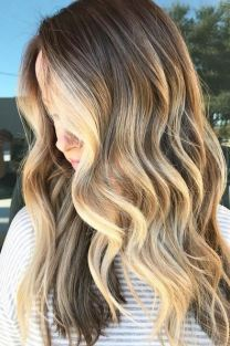 brunette-balayage