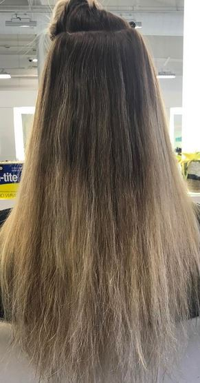 Transformation tuesday blonde highlights mane interest before hair makeovers before and after photos pmusecretfo Image collections