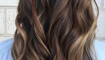 Naturally sunkissed brunette mane interest subtle caramel pops pmusecretfo Images
