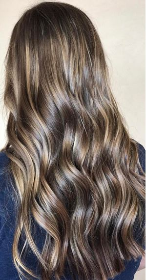 beautiful brunette hair color idea