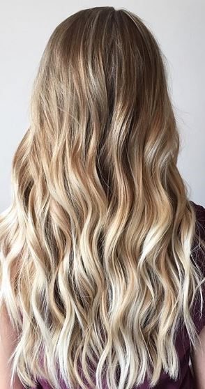 natural looking blonde balayage