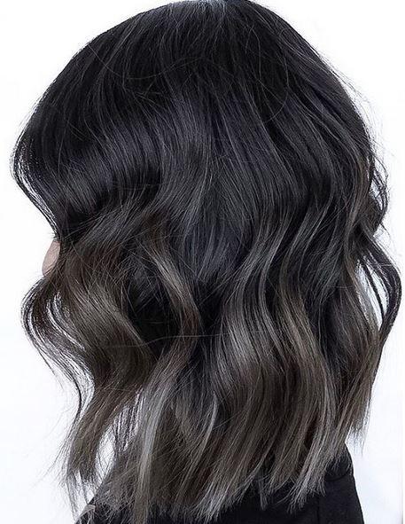 steel gray hair color