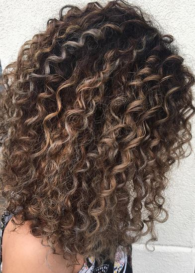 balayage on curly hair – Mane Interest