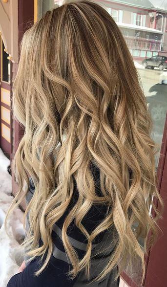 Beautiful Honey Blonde Mane Interest