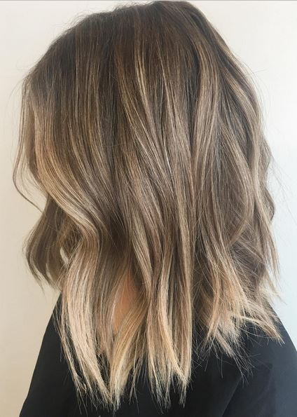 Perfectly Bronded Balayage Mane Interest