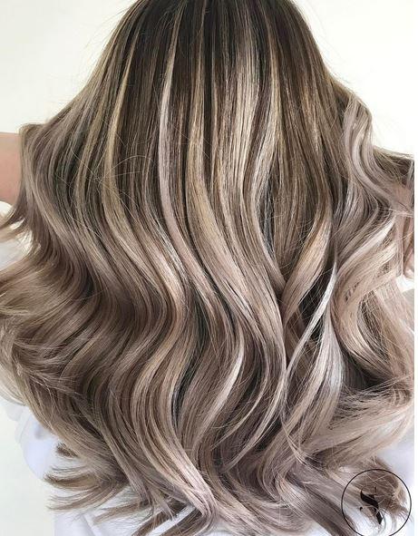 Ash Brown Pink Hair ash blonde – ...