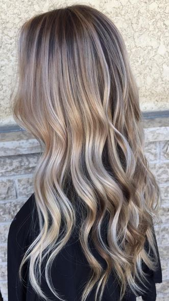 Vanilla Blonde Lights Mane Interest