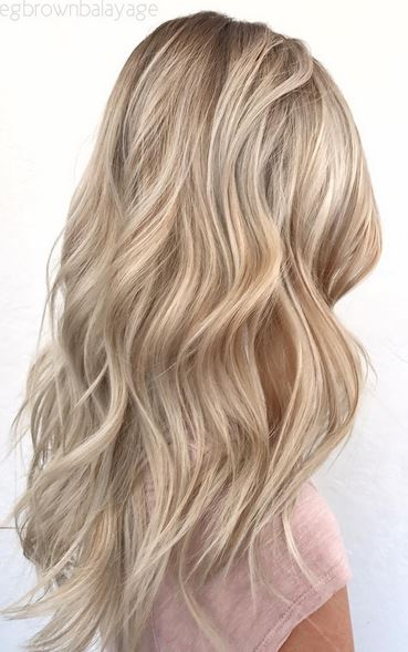 perfect blonde highlights mane interest